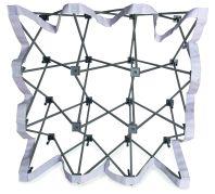 Coala Popup Textile presentatiesysteem - frame opengevouwen